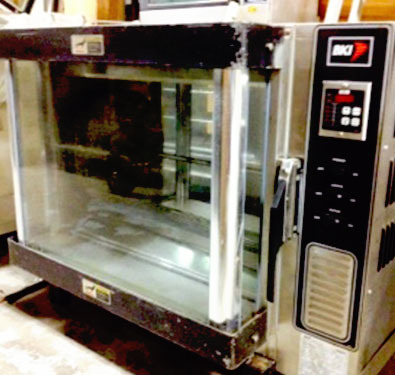 Bki Dr 34 Rotisserie Pass Thru Oven Hess Meat Machines